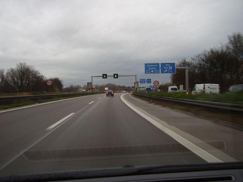 Autobahnkreuz Köln West