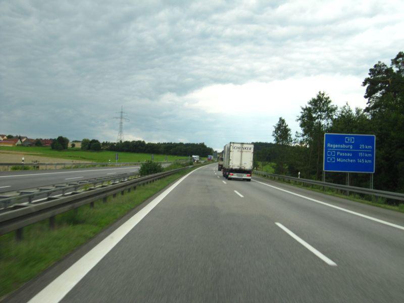 Autobahn Regensburg